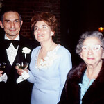 Anthony, Pat, Nonnie at Gina and Dana's wedding