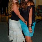 Sophia and Marisa, dancing queens