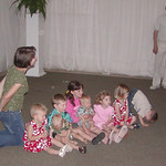 The great grandchildren (Jessica sneaking Naomi in)