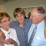 Pat and Anthony with grandson Alonso