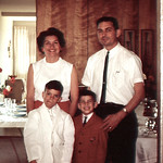 Paul's First Communion; didn't like the host?