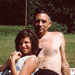 Gina and Anthony at Camp Mather