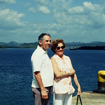 Pat and Anthony in Panama