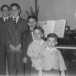 Pete, Joe, Dave, Paul, and Tim; the five Bros