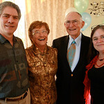 Dave, Pat, Anthony, Sita at Anthony's 90th Bday