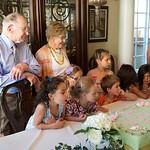 Pat's 90th Bday; cake, cake, cake