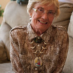 Pat at her 88th Bday party
