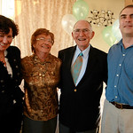 90th Bday with Tim and Fran