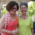 Fran and Cheryl at Pat's 89th Bday