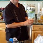 Paul fires up the margarita machine