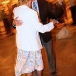 Dancing at Emily-Brandon wedding; let them rest?