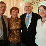90th Bday with Pete and Sally