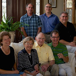 Pat's 89th Bday; the kids (minus Dave)