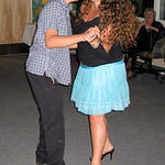 Alonso and Marisa partners in dance
