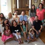 Pat's 90th; Joe's kids, grandchildren with Susan, Vicki