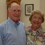 65th Anniversary; the happy couple