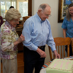 65th Anniversary; of course there's a cake!