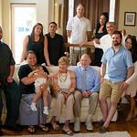 Pat's 90th; Paul and Julie's kids, grandkids