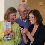 Melissa, Mike, Nicole at Pat's 88th Bday