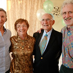 90th Bday with Mike and Melissa