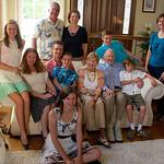Pat's 90th; Gina and Dana's kids, grandkids
