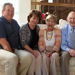 Pat's 90th; Anne and John Mistler